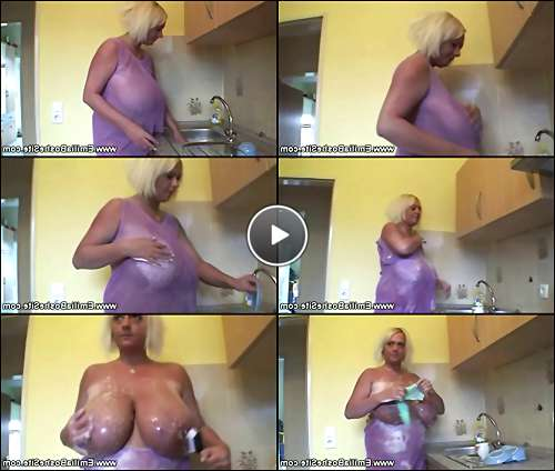 mature natural tits video